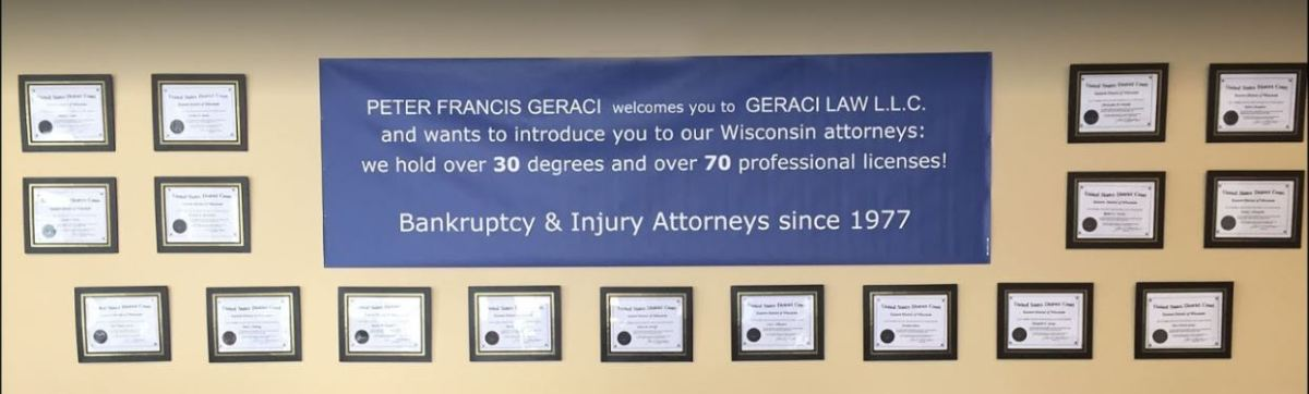 What Geraci Law Milwaukee ClientsSay!