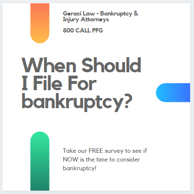 When Should I File For Bankruptcy?