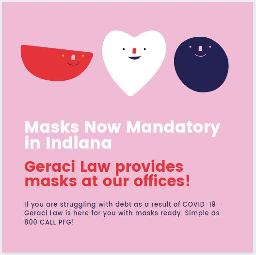 Masks Required in State ofIndiana