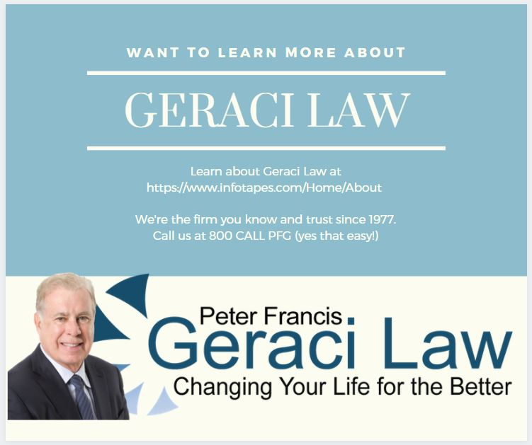 How Can I Meet With Geraci Law?