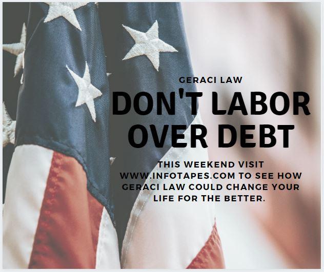 Don't Labor OverDebt!