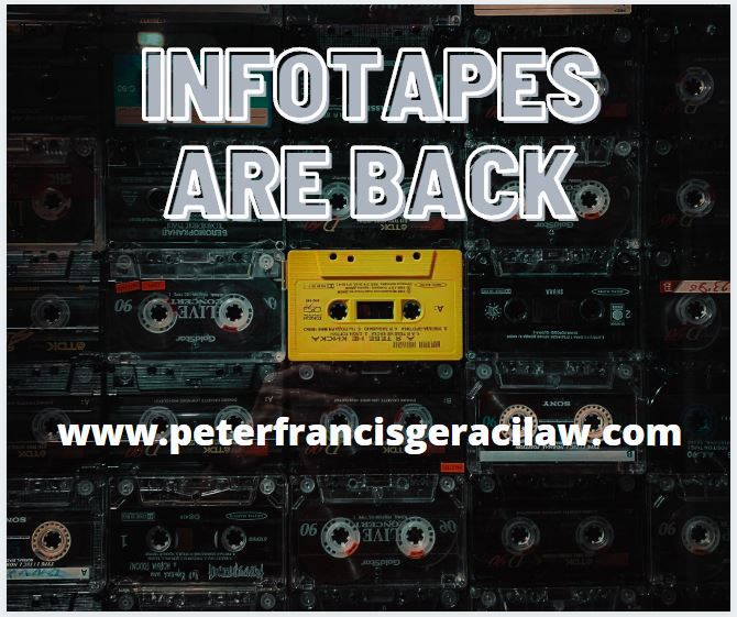 Infotapes are Back!