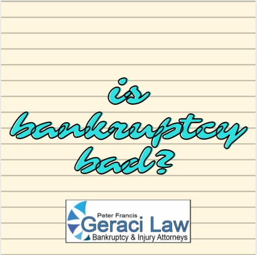Is Bankruptcy Bad?